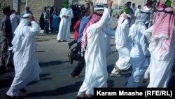 تظاهرة في الأهواز ضد السلطات الإيرانية
