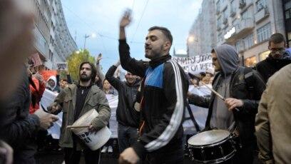 Mladi na protestu, ilustrativna fotografija