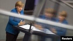 Сегодняшнее выступление Ангелы Меркель в бундестаге
