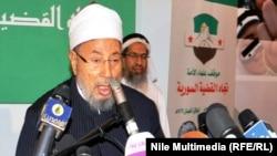 د اسلامي نړۍ مشهور عالم او مفتي شیخ یوسف القرضاوي