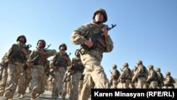 Ermənistanda müştərək hərbi təlimlər, 16 sentyabr 2012