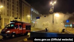 Пожежа почалася вночі 5 квітня