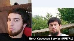 Похищенные в Каспийске Шамиль Джамалутдинов и Ислам Магомедов