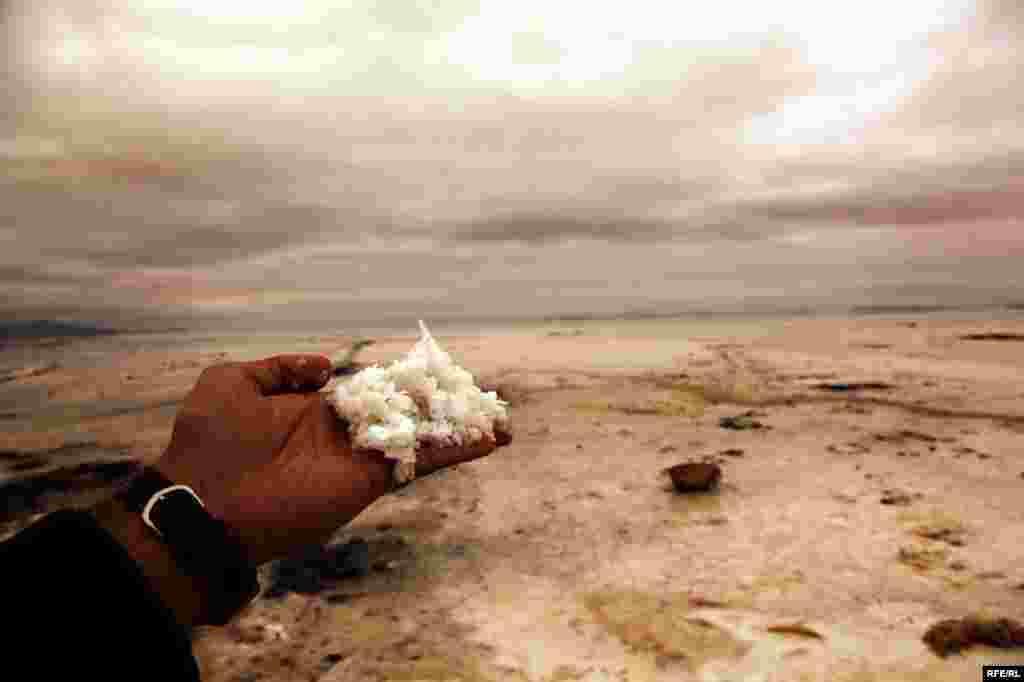 Səhraya çevrilən Urmiya gölü #4
