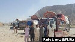 شماری از عودت کنندگان افغان از پاکستان