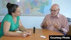 Jim Herne intervievat de Diana Răileanu la Chișinău