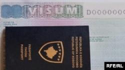 Pasaporta e Kosovës, ilustrim