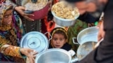 Food distribution for destitute – Kerman Province – Iran. Undated photo