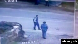 Грозныйда тикшереп үткәрү капкасына куелган видеокамерадагы язмадан
