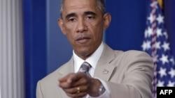 АҚШ президенті Барак Обама. Вашингтон, 28 тамыз 2014 жыл.