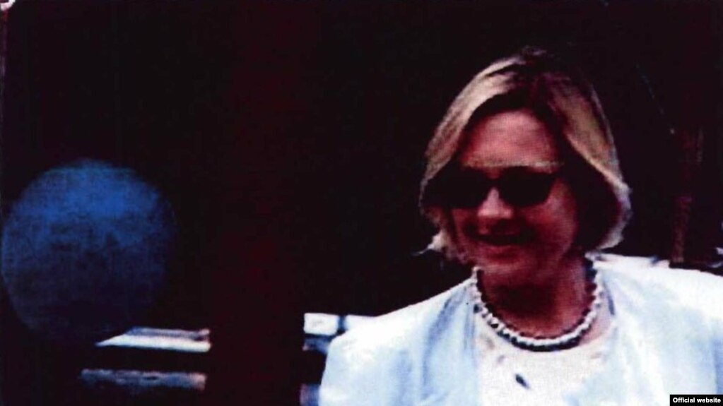 Tracey Ann Foley, also known as Russian spy Elena Vavilova, the mother of Alexander Vavilov (FBI photo)