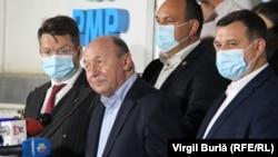 Traian Băsescu s-a situat pe locul trei în cursa pentru Primăria Capitalei.