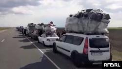 O'zbek muhojirlari Rossiya- Qozog'iston chegarasiga 30 apreldan boshlab yig'ila boshlagan