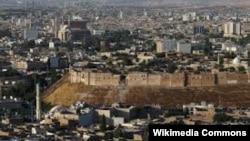 Ирактың Мосул қаласының жалпы көрінісі. 25 ақпан 2017 жыл.