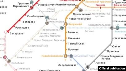 карта метро москвы смотреть