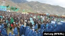 Pamje nga një tubim i mëparshëm parazgjedhor i kandidatit Abdullah Abdullah