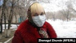 Жительница Актобе Людмила Шарапова. 14 марта 2013 года.
