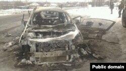 Наслідки нападу на одного з ватажків сепаратистів Олександра Бєднова («Бетмена»)