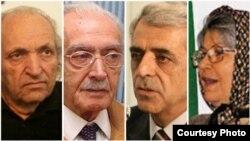 زهرا صفاپور (دبیرکل حزب پانایرانیست)، کورش زعیم و ادیب برومند (از چهرههای ارشد جبهه ملی) و خسرو سیف (دبیرکل حزب ملت ایران)