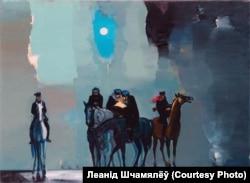 Пасьля кавалерыі коні назаўсёды ўвайшлі ў творчасьць мастака