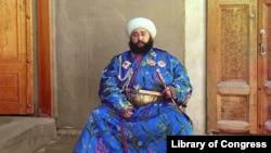 Эмир Алимхан, правитель Бухары