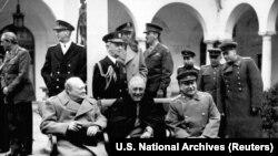 Ялтинская конференция руководителей стран-союзников