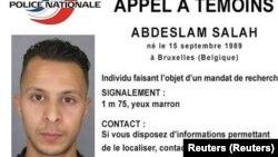 Париждегі терактілерге күдікті Салах Абдеслам.