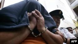 Обвиненный в шпионаже в пользу России Роберто Флорес.