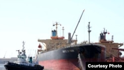 نفتکش رافلز پارک که با انجام معامله ای «در اختیار شرکت کشتیرانی ایران قرار گرفت»، زیر پرچم لیبریا فعالیت داشته است.