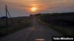 Проселочная дорога, Теленештский район, Молдова