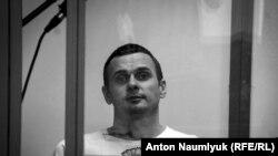 Олег Сенцов в суде (архивное фото)
