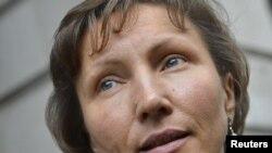 Вдова Александра Литвиненко Марина присутствует на всех слушаниях по делу о смерти мужа