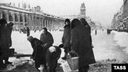 Блокадный Ленинград. 1941