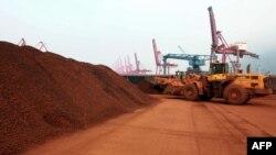 Қытайдағы сирек металл өндіретін кеніш. Цзянсу провинциясы. (Көрнекі сурет).