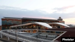 Armenia - The new terminal of Zvartnots International Airport was opened, Yerevan,16Sep2011