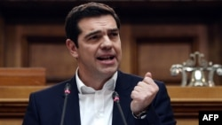 """Greek Prime Minister Alexis Tsipras has described Western sanctions over Moscow's interference in Ukraine as a """"road to nowhere."""""""