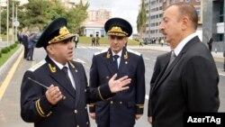 Baş prokuror Zakir Qaralov... və prezident İlham Əliyev