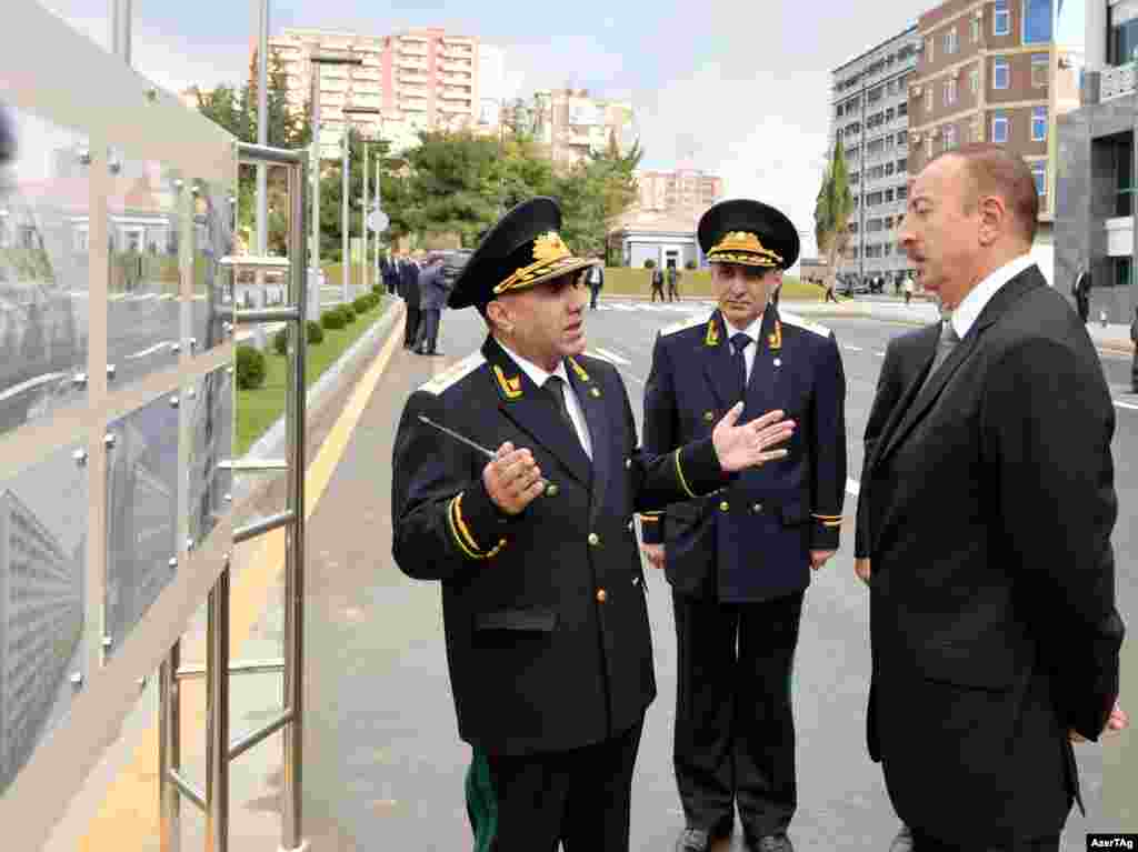 Aliyev opens a new administrative building dedicated to the country's Anticorruption Department on September 30. Azerbaijan is regularly ranked one of the world's most corrupt countries, on a par with Nigeria and Pakistan.
