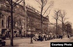 Veche ilustrată cu Teatrul de l'Empire la Paris