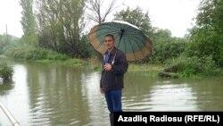 Yağış yağanda sonra Şilvər kəndi