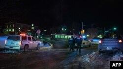 Полиция в канадском городе Квебек. 29 января 2017 года.