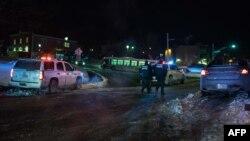Կանադա - Ոստիկանները դեպքի վայրում, Քվեբեկ, 29-ը հունվարի, 2017թ․