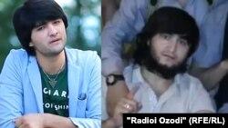 Әнші Шахриёр Давлат (сол жақта) және Парвиз Саидрахмонов .