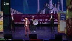 """""""Мөнбәр"""" татар-дини театры Казанда яңа тамаша күрсәтте"""