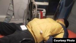 Мурагер Алимули Қўянди қишлоғида пичоқланган ва қаттиқ калтакланганиден кейин шифохонада- Нур-Султон, 21 январь, 2021