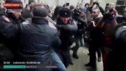 У Москві затримали Навального (відео)