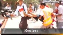 Myanmarda polis təhsil haqqının artırılmasına etiraz edən tələbələrə qarşı zor tətbiq edir
