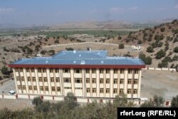 A newly built school in the Laknaw area of Afghanistan's Khost Province, next to the Pakistani border, that was funded by India.