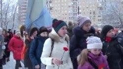 Открытие памятника Андрею Сахарову