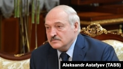 Liderul de la Minsk Alexandr Lukașenko. 16 aprilie 2021